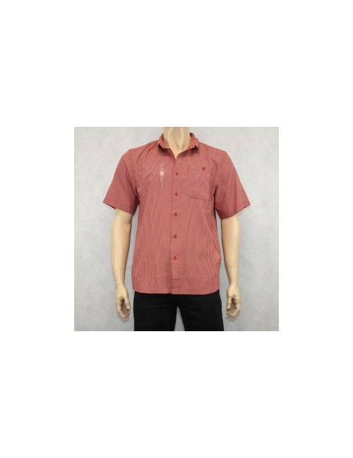 The North Face Stanage Woven Caldera Red Shirt Size L