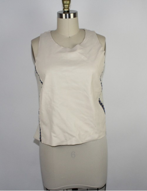 ZARA W&B Collection womens sleeveless top