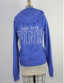VICTORIA'S SECRET PINK zip front hoodie
