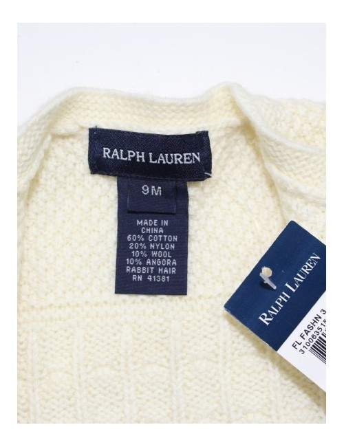 RALPH LAUREN baby girl sweater