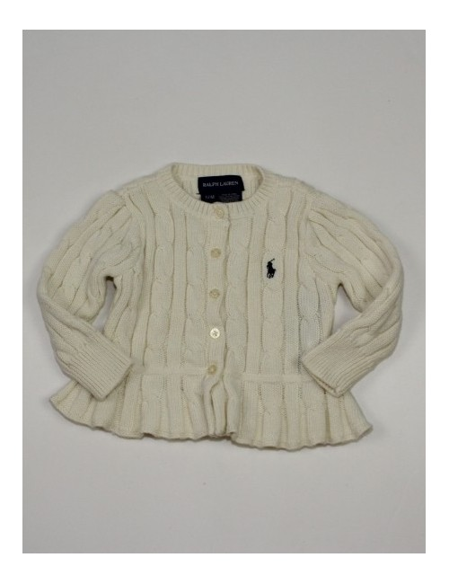 RALPH LAUREN girls cardigan sweater
