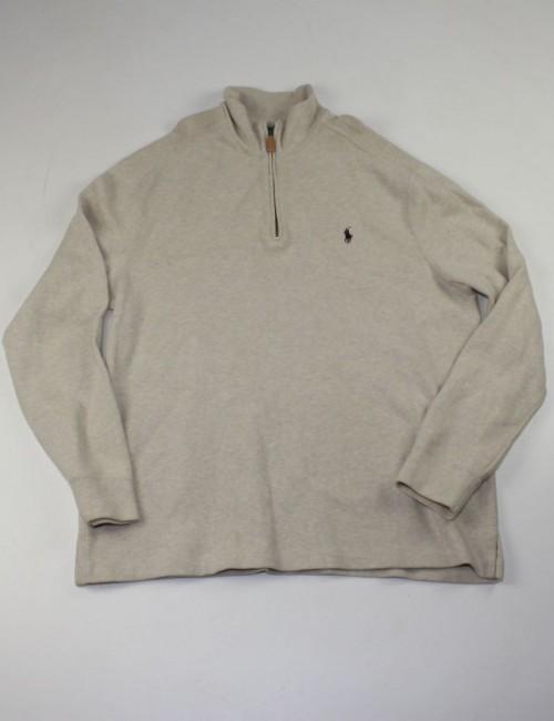 RALPH LAUREN mens 1/4 zip sweatshirt