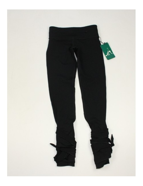 NANCY ROSE PERFORMANCE womens teaser fit wrap around tight pants