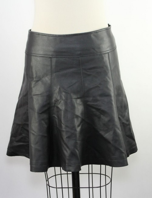 URBAN OUTFITTERS SPARKLE & FADE women faux leather skirt