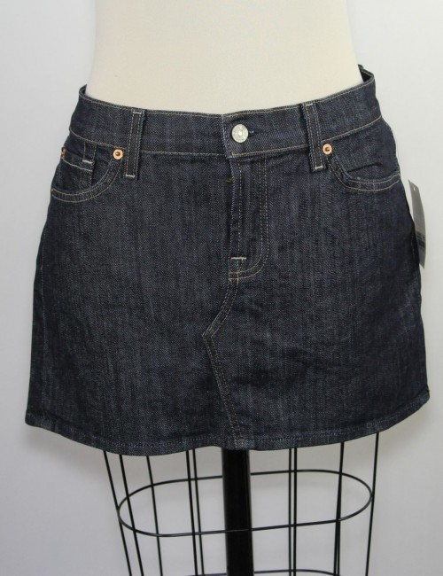 7 FOR ALL MANKIND womens denim mini skirt (32)