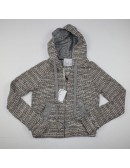 DOLAN from ANTHROPOLOGIE zip front hoodie Size XS