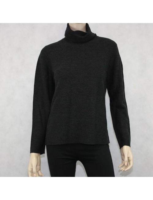 Eileen Fisher Merino Wool Turtleneck Size L