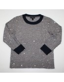 J.CREW scattered sequin sweater Size S