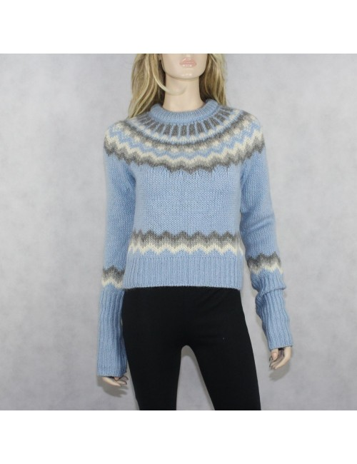 J.CREW Women's Wool-Monhair Knit Pull Over Sweater!