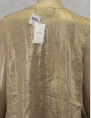 CHICOS womens breezy tie lyza sleeves fash top (size 2 US 8-10)