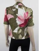 ELLEN TRACY womens multicolor flower print blazer (6)