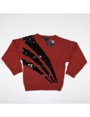 MARC BY MARC JACOBS womens rabbit hair wool sequin sweater!