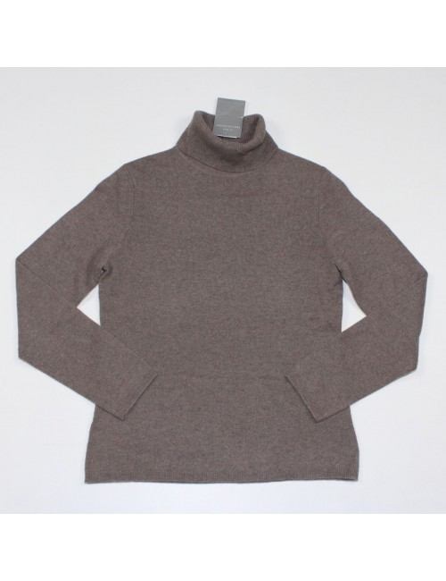 CHARTER CLUB 2-PLY 100% CASHMERE turtleneck sweater Size S
