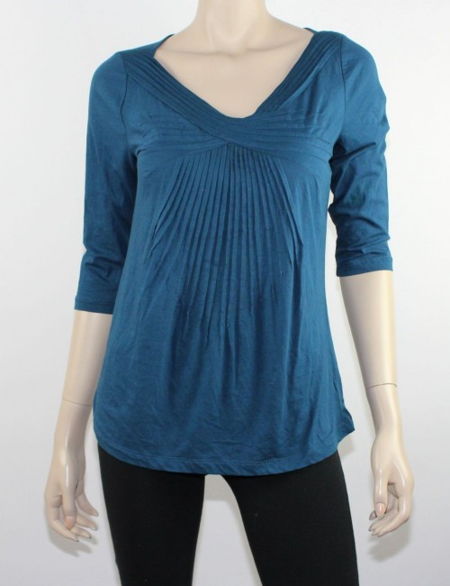ANTROPOLOGIE DELETTA womens long sleeve top (M)