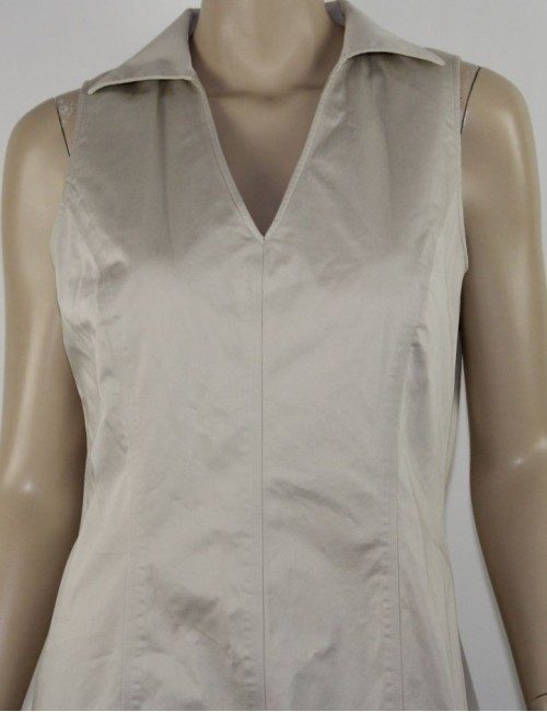BROOKS BROTHERS womens beige carrier dress (12)
