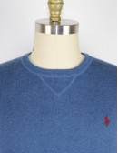 RALPH LAUREN mens cotton crew neck sweater