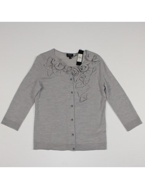 TALBOTS womens pure Italian merino cardigan sweater (S) NWT