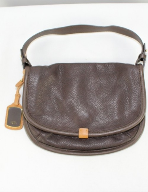 UGG AUSTRALIA CC005 flap leather handbag