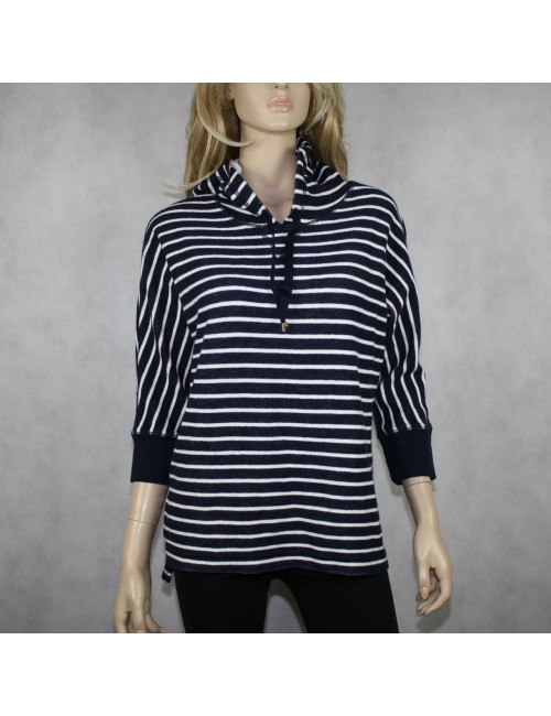 LRL LAUREN JEANS CO. Hooded Henley Sweater! (M)