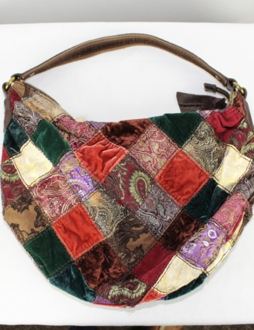 Lucky Brand Hobo Patchwork Purse Best Image Ccdbb