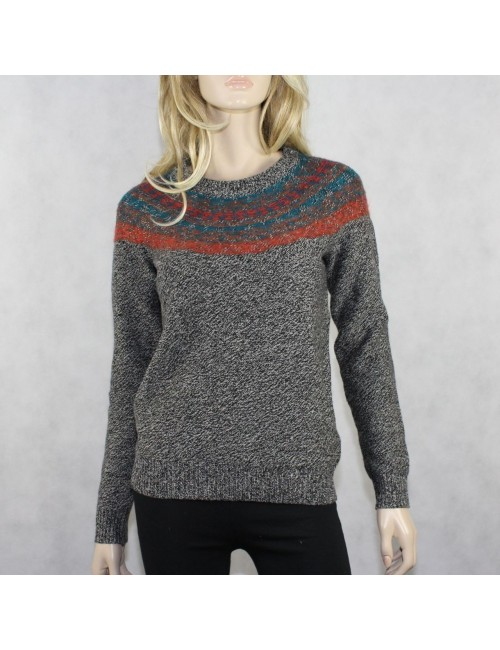 MADEWELL WALLACE Multi Color Wool-Monhair Knit Sweater (S) NWT