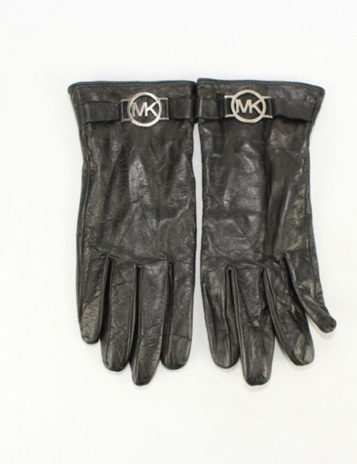 MICHAEL KORS womens gloves with logo trim