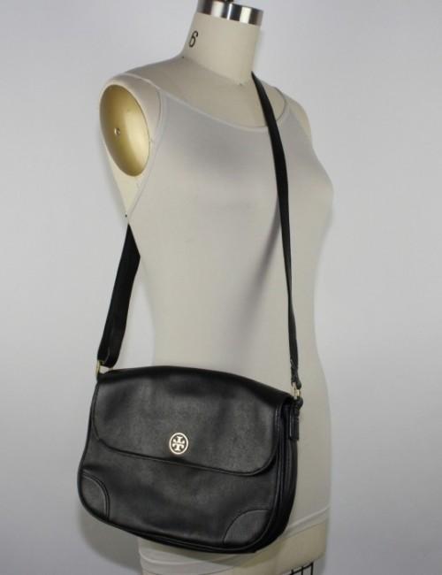 f08872c3947 TORY BURCH flap crossbody handbag with logo