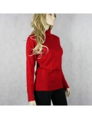 CACHE red turtleneck sweater!
