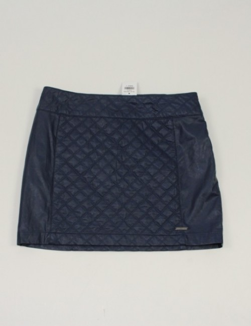 ABERCROMBIE & FITCH womens mini polyurethane skirt