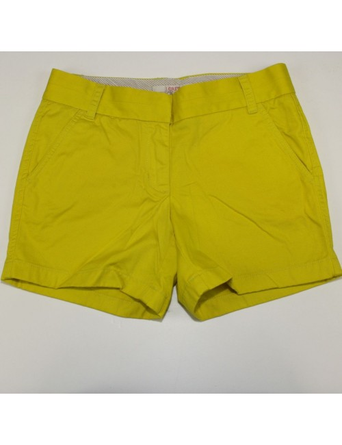 J.Crew Yellow Cotton Shorts Size 4