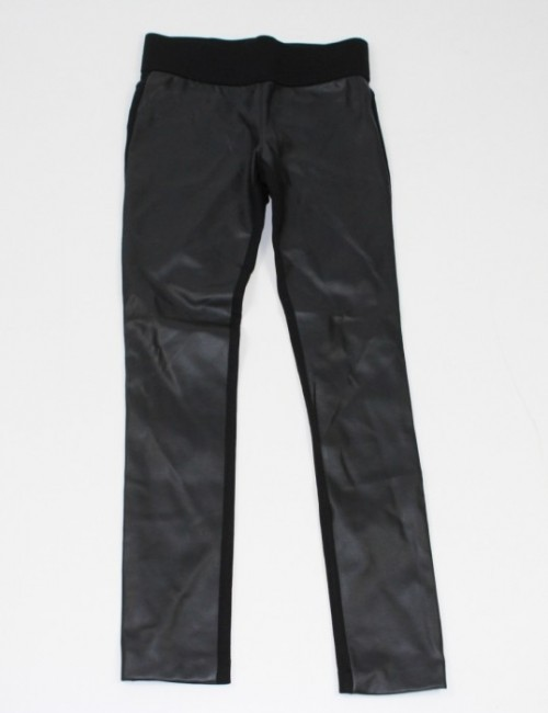 4c6634d4d28e96 CLUB MONACO womens Tasha faux leather leggings, great price $25.00