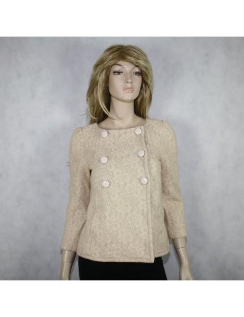 MARC BY MARC JACOBS womens beige jacket (XS)
