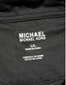MICHAEL KORS mens hooded half-zip sweater