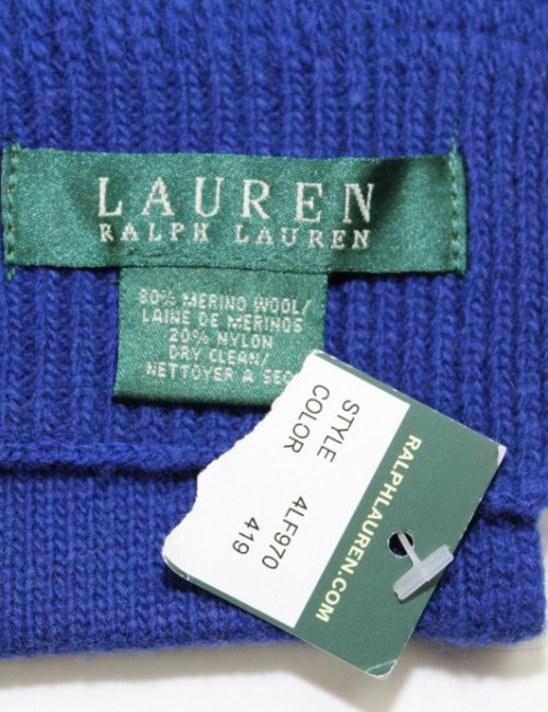 RALPH LAUREN womens wool HAT and SCARVES