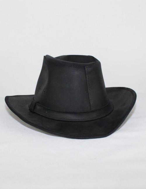 MINNETONKA leather womens cowboy HAT