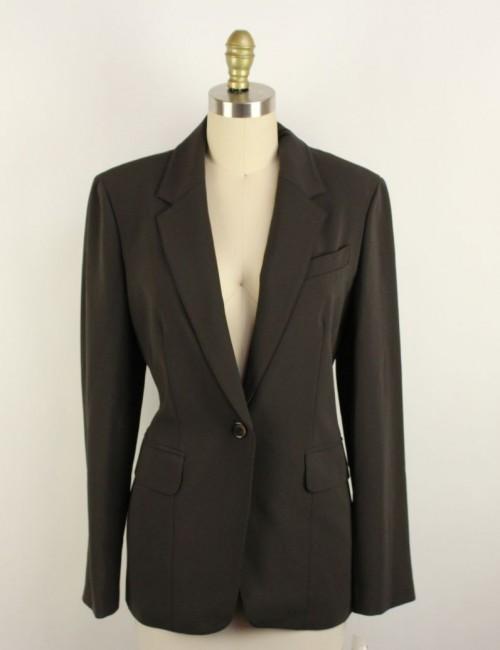 7 FOR ALL MANKIND womens button down blazer